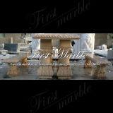 Marmeren Bank & Gouden Bank & Lijst mbt-1001 van het Graniet van de Steen van de Woestijn van de Lijst