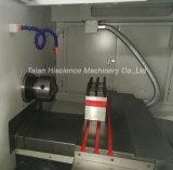 Machine de rotation de tour de commande numérique par ordinateur de mandrin hydraulique à grande vitesse d'axe