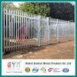 Ограждать сада металла высокого качества/загородка Palisade парка гальванизированная усовиком стальная