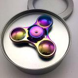Filatore in lega di zinco di irrequietezza del metallo del filatore della mano di colore del Rainbow