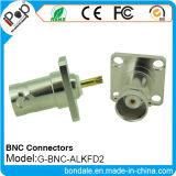 Connecteur coaxial de connecteurs de BNC Alkfd2 pour des connecteurs de BNC