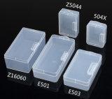 Квадратная коробка PP пластмассы