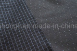 Tela teñida hilado, tela del telar jacquar del Tr para la ropa, 65%Polyester 35%Rayon, 240g/Sm