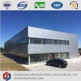 Construction de gestion préfabriquée de bâti en métal