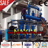 Óleo lubrificante do desperdício da fabricação de China que recicl a máquina de filtração da regeneração do petróleo