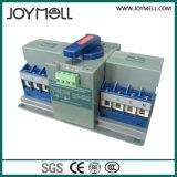 Tipo elétrico interruptor automático do disjuntor de transferência de 2p de 1A a 63A