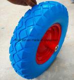 pneus livres lisos da espuma do Wheelbarrow 16X4.00-8
