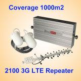 3G GSM WCDMA van de Repeater van het Signaal van het sta-caravan HulpSpanningsverhoger 900 2100MHz van het Netwerk