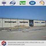 Edifício claro pré-fabricado da oficina da construção de aço