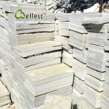 بيضاء طبيعيّ شقّ جدار رقيق حجارة قشرة