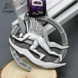 Il rifornimento 3D antico tagliato abitudine di Jiabo mette in mostra la medaglia del metallo con il nastro (JIABO-JP1071)