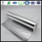 Алюминиевая фольга домочадца фольги фольги Al 14 микронов мягкая покрынная алюминием