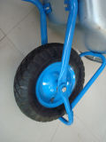Tray e Air galvanizados Wheel Wb5009 Wheel Barrow