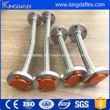 Grosser Durchmesser-Stahldraht-umsponnener Teflonschlauch mit Montage