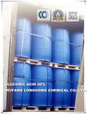 Levage de l'acide gluconique des agents 50%