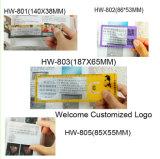 Kundenspezifisches Firmenzeichen Soem konzipierte Bookmark-Vergrößerungsglas-Tabellierprogramm, freie Probe (HW-802A)