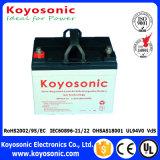 batterie d'accumulateurs rechargeable de gel de système d'alimentation solaire de 12V 38ah