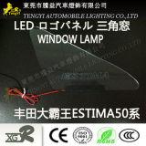 Lámpara del panel auto de la insignia de la luz de la ventana de coche del LED para Toyota Estima Serena Honda Odyssey