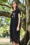 Spitze-schwarze Dame-reizvolles Kleid