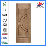 Piel moldeada de madera de la puerta de la chapa interior de la madera contrachapada (JHK-014)