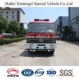 Dongfeng 153 Feuerbekämpfung-LKW des Wasser-8ton mit vorderem Sprenger