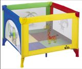 최신 판매는 아기 갓난아이 놀이터 휴대용 여행 간이 침대 안전 아기 간이 침대를 인쇄했다