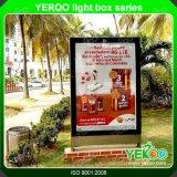 ライトボックスを広告する屋外の二重味方されたLED Lightbox Mupi