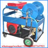 Máquina de la limpieza de la alcantarilla del jet de agua de la máquina de la limpieza del tubo de desagüe de la alcantarilla de Guangyuan 50-400m m
