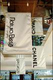 Impression bon marché de drapeau d'indicateur de polyester de tissu de satin de bonne qualité