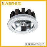 18W LEDのスポットライトAr80が付いているアルミニウム据え付け品は軽い屋内を欠く