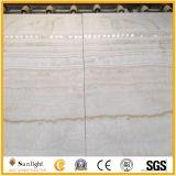 Witte Houten Ader/Gele Onxy voor Vloer & Muur