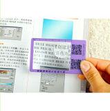 Förderndes Bookmark mit Tabellierprogramm-Anzeigen-Vergrößerungsglas 3X 6X 187*65mm Hw-803A