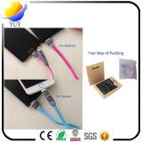 Universalität 2 in 1 USB-Kabel-aufladennetzkabel mit 1m langem Netzanschlusskabel für Android und iPhone