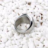 De 2017 anillos del contrato del acero inoxidable del anillo de bodas venta al por mayor barato