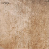 Mattonelle grige opache antisdrucciolevoli della porcellana del pavimento del cemento della nuova pavimentazione interna di disegno (600X600mm)