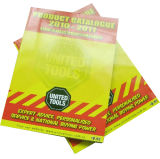 Catálogo de papel impreso aduana del asunto de la alta calidad C2s