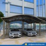 parking en aluminium de polycarbonate de forme imperméable à l'eau de la mode Y de 5.5mx5mx3m