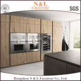 Armadio da cucina bianco classico del PVC del MDF di N&L