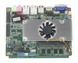 Videoausgabe des Motherboard-D2550-3 der UnterstützungsVGA+Lvds, Muttervorstand mit Bordprozessor des intel-Atom-D2550/N2600/D2700/N2800