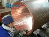 Tubo de cobre sin costura para grandes Od