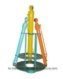 A máquina escavadora parte o crescimento de Sany Sy200/o cilindro hidráulico Assyembly cilindro do braço/cubeta