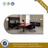 Metalzelle L Form-Direktionsbüro-Schreibtisch (HX-FCD091)