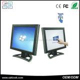 Moniteur d'affichage à cristaux liquides Digital d'écran tactile de résistance de fil de pouce 4 de la vente en gros 15