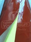 Fibra de vidrio revestida del silicón de la alta calidad con el pegamento