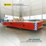 Carretilla eléctrica del carro de la dirección de cargo del vector grande de la carga pesada