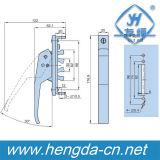 Serratura di vetro della maniglia di portello della serratura della maniglia della serratura di spinta di sicurezza del hardware Yh9474