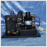 Élément réfrigérant de condensateur de compresseur rotatif pour le système de réfrigération compact d'évaporateur