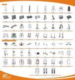 De Apparatuur van de geschiktheid/Commercieel Hurkend Rek/Rek van de Apparatuur van de Gymnastiek het Gespleten Hurkende