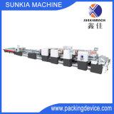 Carpeta automática Gluer/rectángulo del papel acanalado que pega la máquina (DG-2000)