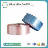 filé de la qualité pp FDY du filament 1200d 100 pour le tricotage